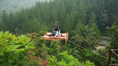 Lokasi Dago Dream Park spot permadani terbang