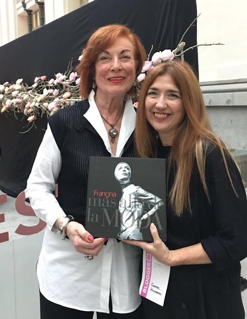 Françine y Carmen Hummer en PASARELA COSTURA ESPAÑA