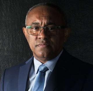 AHMAD AHMAD NEW CAF PRESIDENT