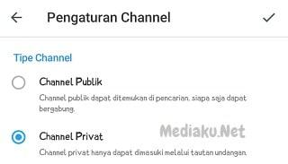 Cara Membuat Channel Baru Di Telegram