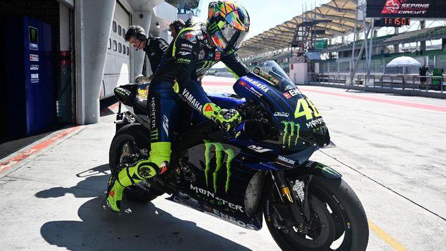 Rossi Kirim Sinyal Perang Pertama Kepada Marquez Dan Lorenzo 2019
