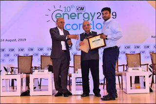 Tata Power awarded at the 10th CII ENCON Awards for energy conservation