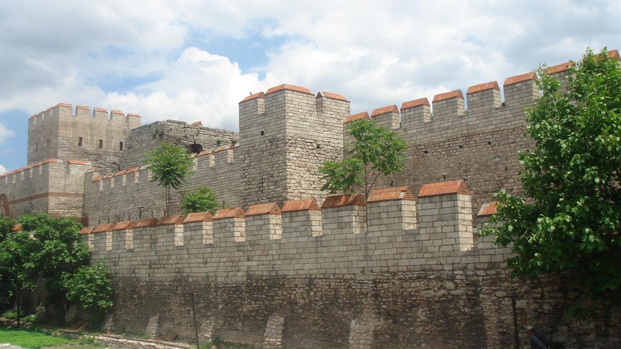 Konidi Benteng Konstatinople di Era Modern