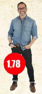 Cuánto mide Eduardo Fuentes Silva
