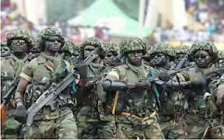 Soldiers invade Gbaramatu Community in search of militants