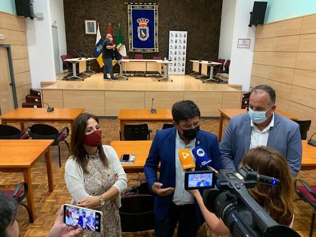 Fuerteventura.-  Pájara conforma el nuevo grupo de Gobierno y delega las áreas de la nueva corporación