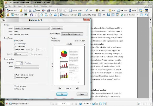 Nuance PDF Converter Professional Free Download