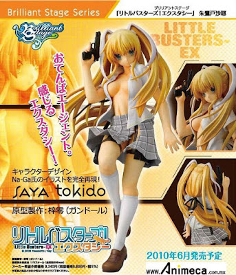 FIGURA SAYA TOKIDO BRILLIANT STAGE LITTLE BUSTERS! ECSTASY