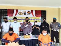 Polres Ponorogo berikan timah panas kepada pelaku pencurian uang di jalan Diponegoro Ponorogo