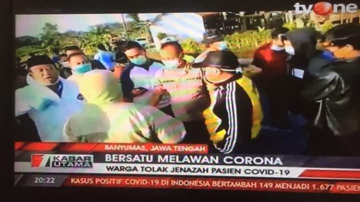 Kejamnya Penolak Jenazah Corona