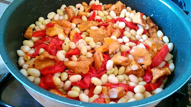 recepta potxas amb rossinyols