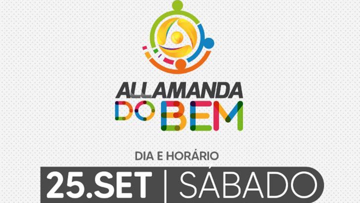 Allamanda do Bem será realizado neste sábado em Porto Velho