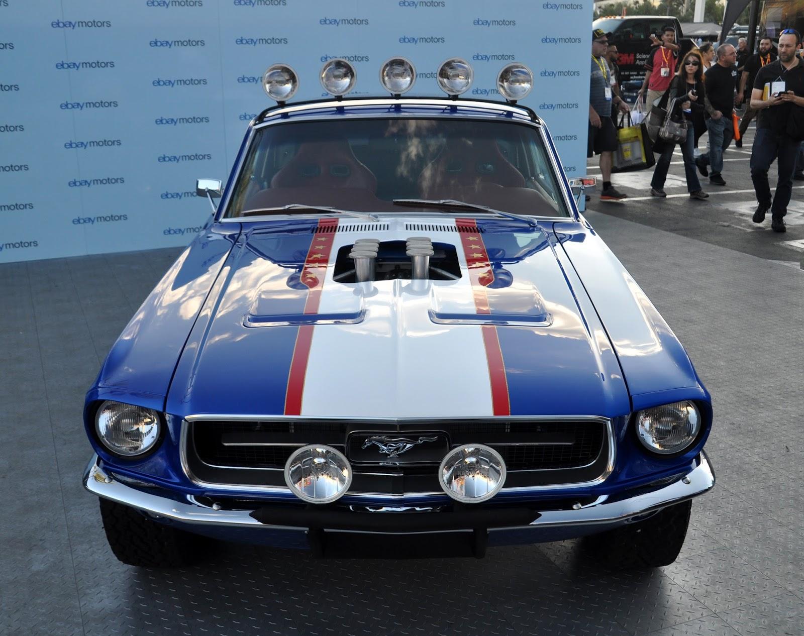 Just A Car Guy: eBay Motor\'s Rowdy \'67 Mustang Fastback