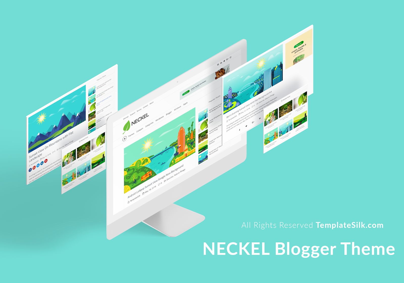 Neckel Blogger Theme