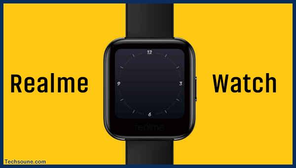 Realme تعلن عن أول ساعة ذكية تشبه Apple Watch