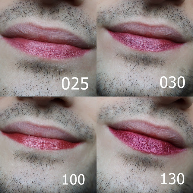 szminka z połyskiem