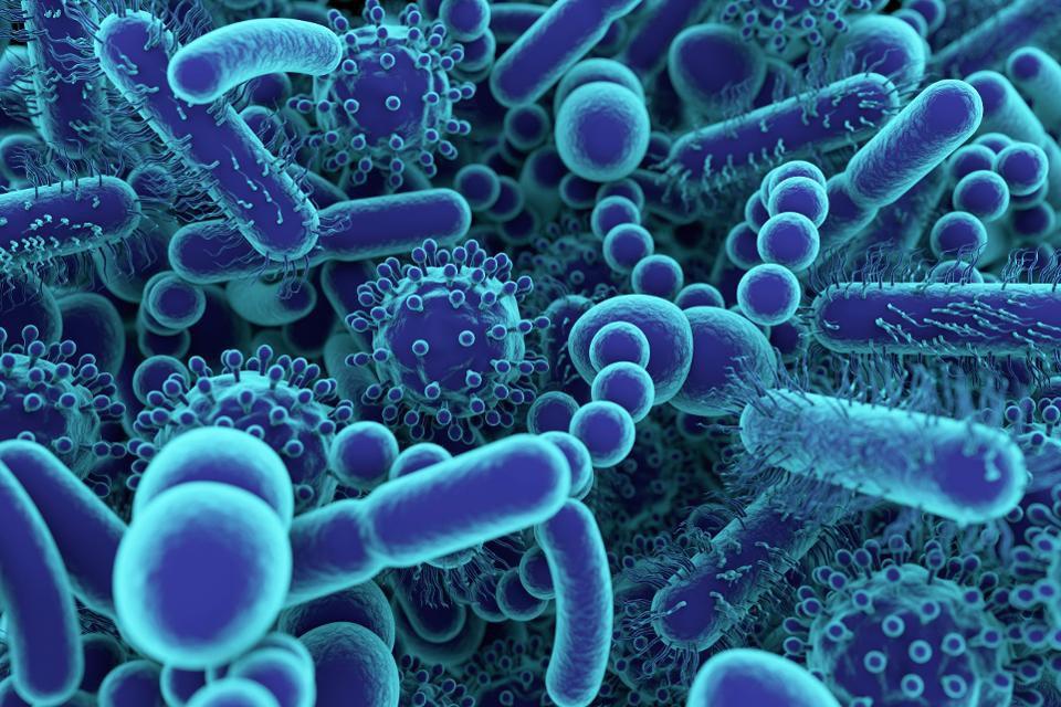 Seu microbioma com drogas farmacêuticas