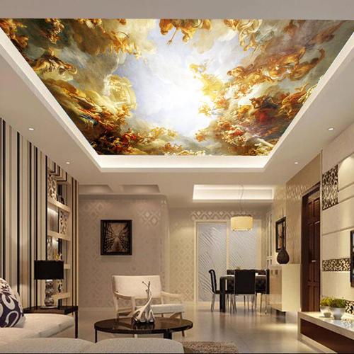 modern 3d spacious false ceiling design ideas