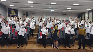 Santy Sastra -  Diklat Karyawan Yayasan  Kesejahteraan Korpri Bali, Universitas Warmadewa, Unwar