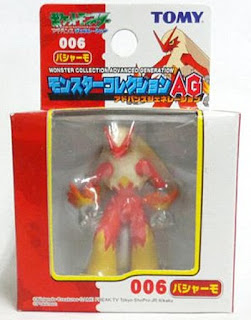 Blaziken figure Tomy Monster Collection AG series