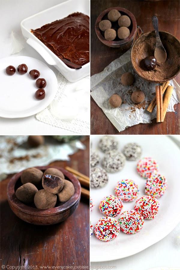 domowe świąteczne trufle czekoladowo-cynamonowe