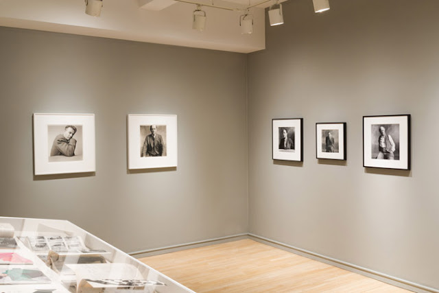 Vista de la exhibicion Irving Penn 1950, Pace Macgill Gallery, jul 2017