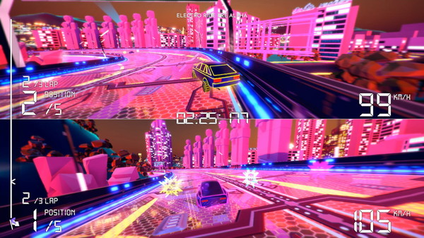 Electro Ride The Neon Racing (2020) PC Full Español