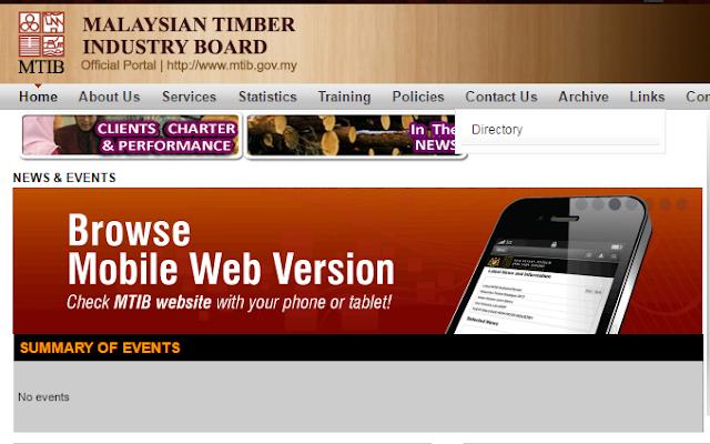 Rasmi - Jawatan Kosong (MTIB) Lembaga Perindustrian Kayu Malaysia