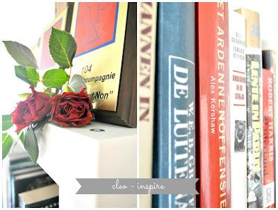 książki i róża