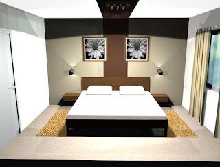 Hiša v Tržišču - spalnica.