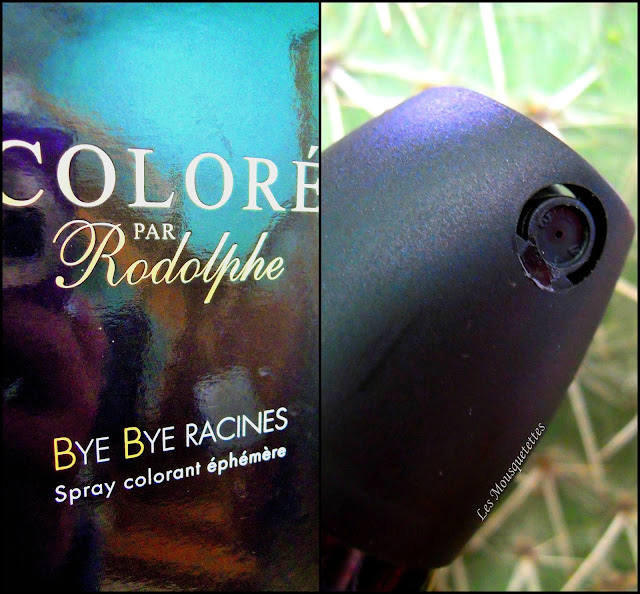 Spray colorant Bye Bye Racines - Les Mousquetettes©