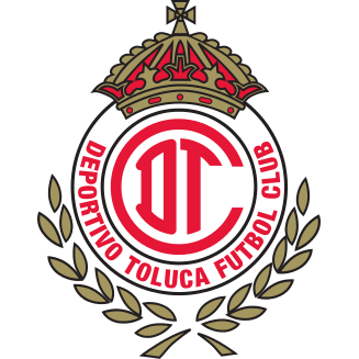 Logo Klub Sepakbola Toluca PNG
