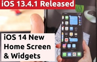 iOS 13.4.1 Released, iPhone 12 Pro Smaller Notch & iOS 14 New Home Screen (Tamil)