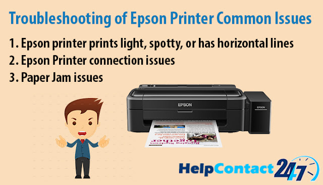 Troubleshooting of Epson Printer Common Issues