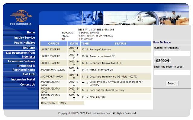 Ciri Zippo Asli ada Barcode Track dari USA