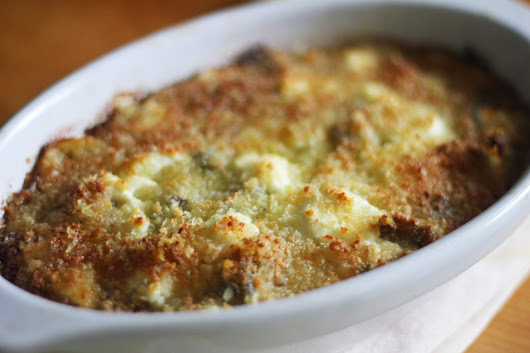 To Market, To Market with San Diego Foodstuff: Eggplant Onion Gratin