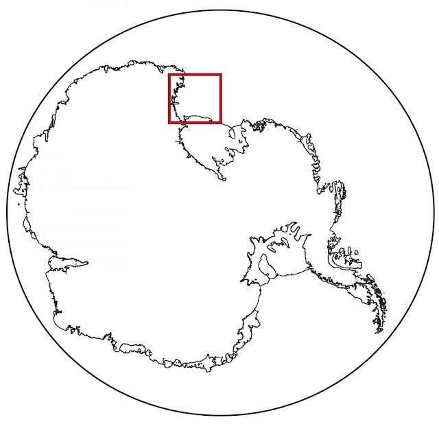 Hidden river once flowed beneath Antarctic ice