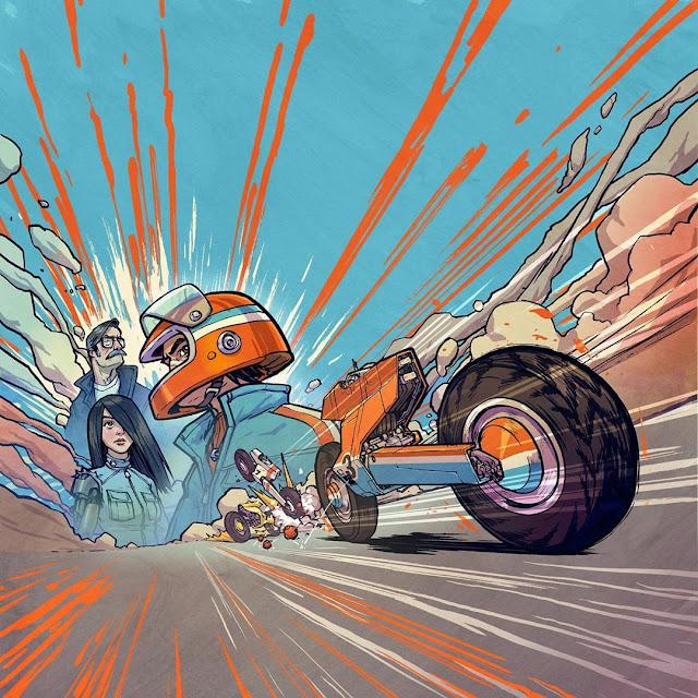 Radical Racer -  Jake Parker
