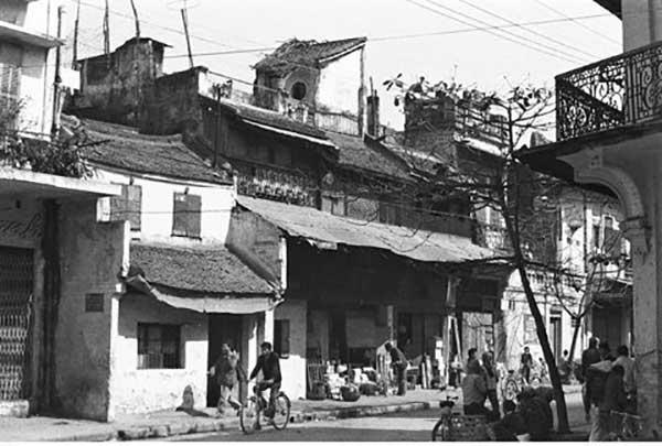Hà Nội xưa - phố Hàng Cân
