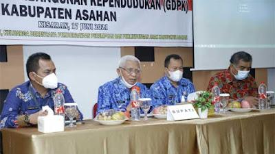 Bupati Buka Pertemuan Penyusunan Grand Design Pembangunan Kependudukan Kabupaten Asahan