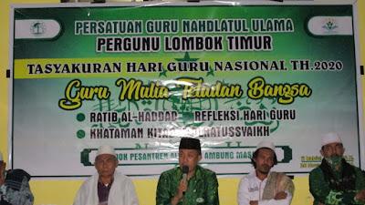 PERGUNU Lotim Gelar Refleksi Hari Guru Nasional di Ponpes Al-khair Ambung