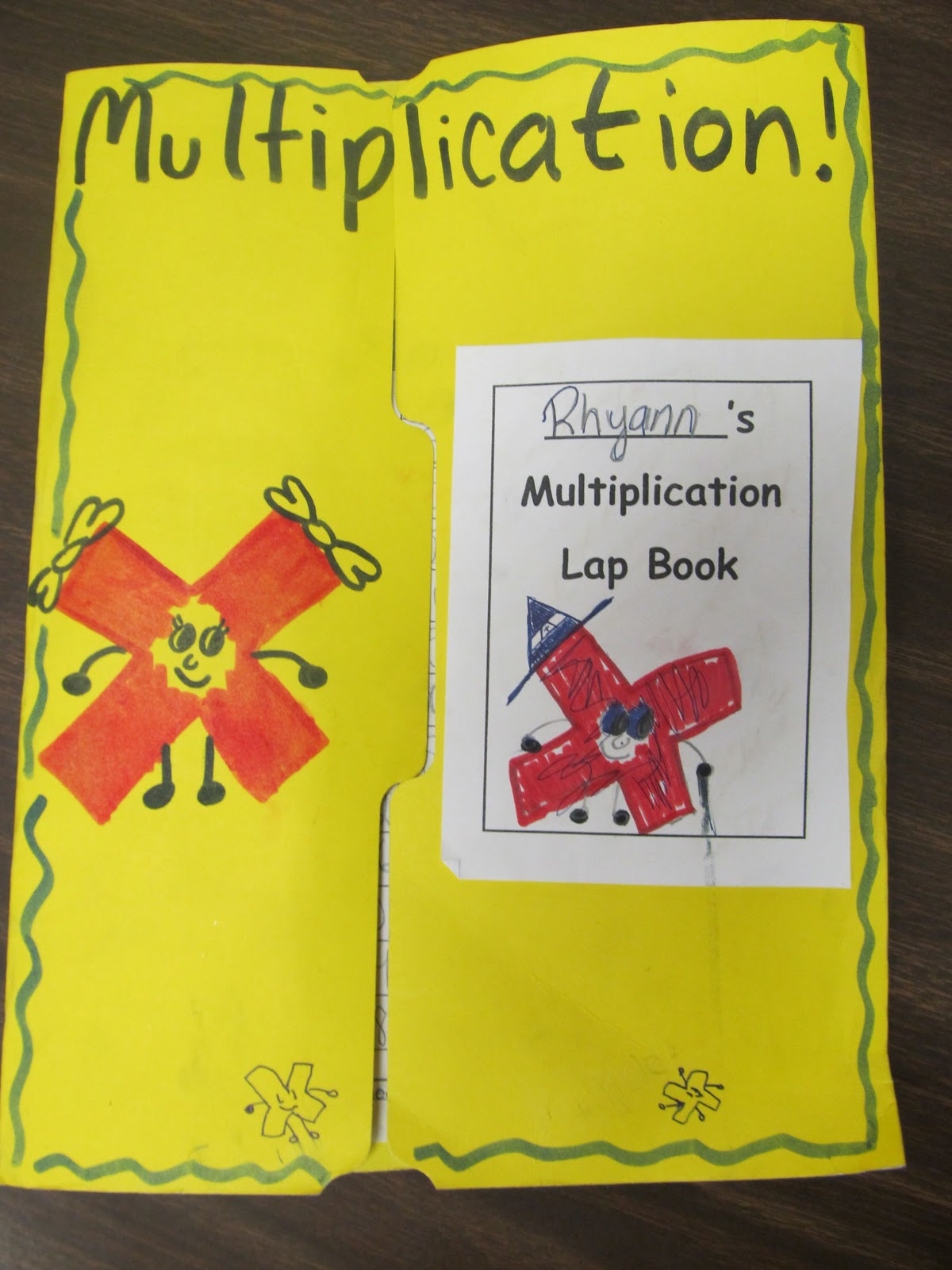 Sub Hub Easy And Free Multiplication Lapbook
