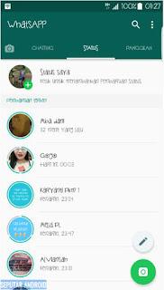 Cara, Menyimpan, Video, Foto, Di Status WhatsApp, Teman, cara download status wa, status wa,
