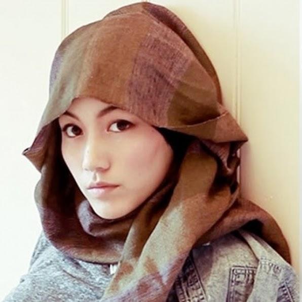 gaya fesyen tudung hijab popular 2014