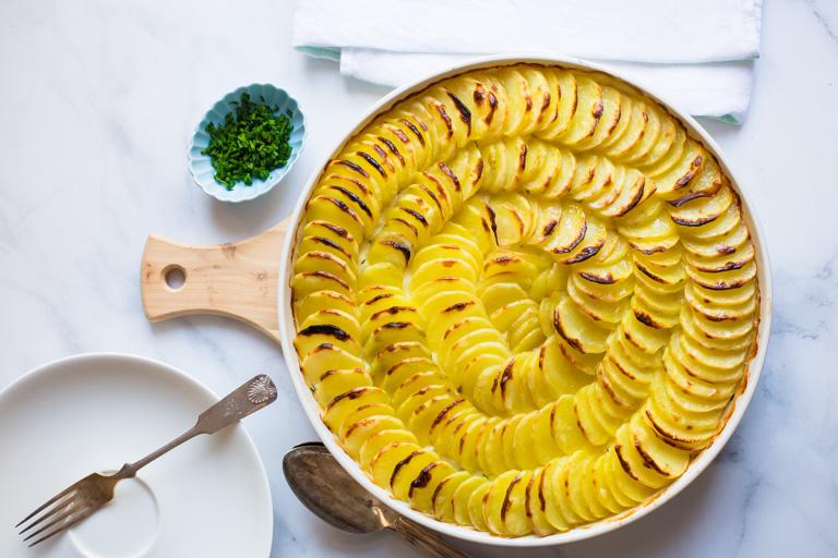 Fish and Potato Gratin