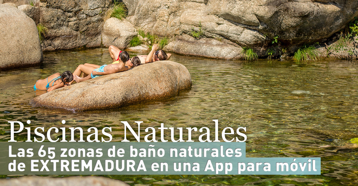 Valle del jerte valle cereza las 65 zonas de ba o naturales de extremadura a tu disposici n - Piscinas naturales badajoz ...