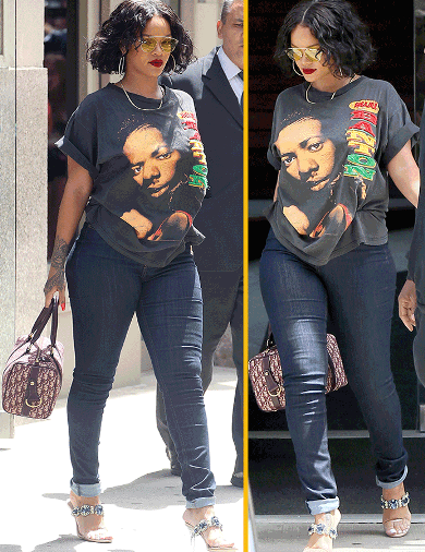 Rihanna Have Added So Much Weight....Looks Gorgeous