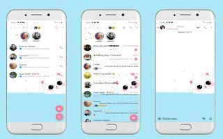 Cute 5 Theme For YOWhatsApp & Fouad WhatsApp By Leidiane