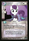 My Little Pony Coloratura, Simply Rara Defenders of Equestria CCG Card