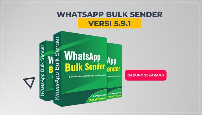 WHATSAPP BULK SENDER V5.9.1 LIFETIME